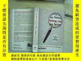 二手書博民逛書店Telling罕見Lies: Clues To Deceit I