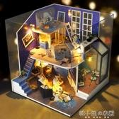 diy小屋別墅手工製作迷你小房子模型拼裝玩具創意生日禮物女生實 韓小姐