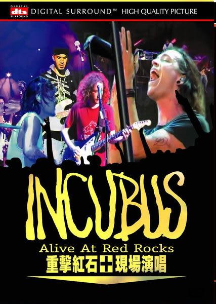 重擊合唱團  現場演唱 DVD Incubus / Alive At Red Rocks (音樂影片購)