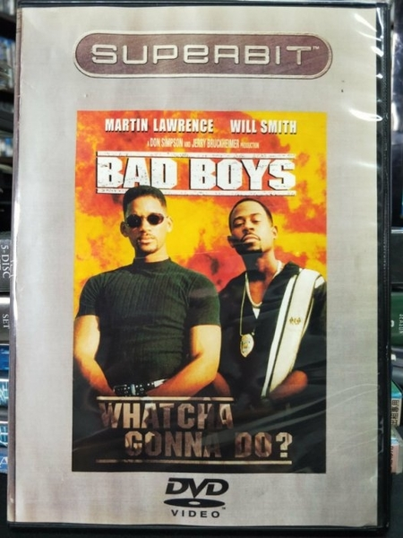 挖寶二手片-D43-正版DVD-電影【絕地戰警】-威爾史密斯 馬丁勞倫茲(直購價)海報是影印