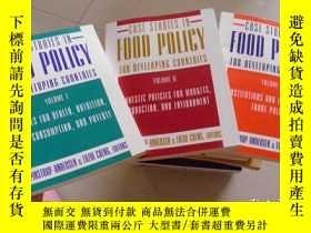 二手書博民逛書店CASE罕見STUDIES IN FOOD POLICY FOR DEVELOPING COUNTRIES(全三冊
