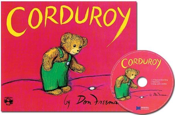 【麥克書店】『小熊媽的經典英語繪本』CORDUROY /英文繪本附CD ( 中譯:小熊可可)