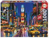 紐約時代廣場拼圖 1000片 夜光效果拼圖 【3C玩家】