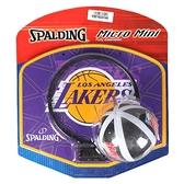 迷你籃球框NBA湖人隊籃筐小型家用兒童壁掛式免打孔籃板小籃球架 初色家居館