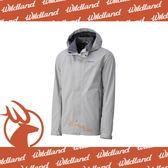【Wildland 荒野 男 單件 防水透氣外套《銀灰》】W3912-23/CHAMP-TEX/防風防雨/爬山健行/機能雨衣