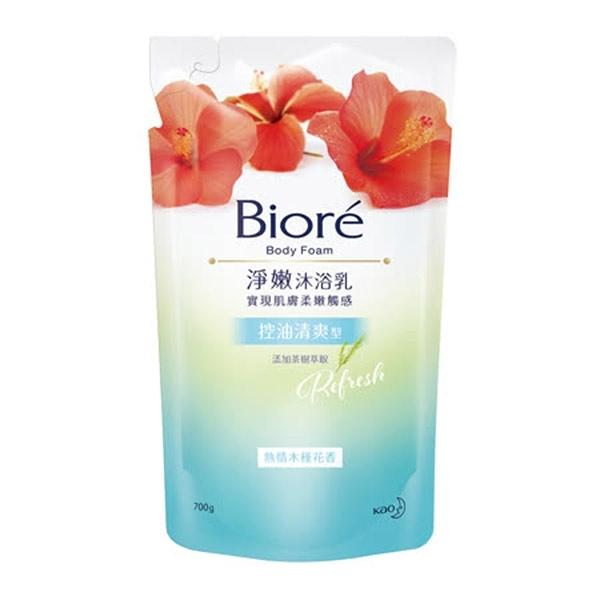 蜜妮Biore 淨嫩沐浴乳控油清爽型-熱情木槿花香700g 【康鄰超市】