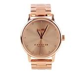 【COACH】大款錶盤馬車Logo女錶(玫瑰金) 14502929