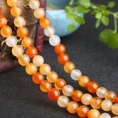 超豐國際原色瑪瑙散珠DIY 手鏈項鏈半成品散珠飾品 配飾1 入