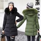 [現貨] 韓系厚舖棉毛領防風保暖外套 顯...