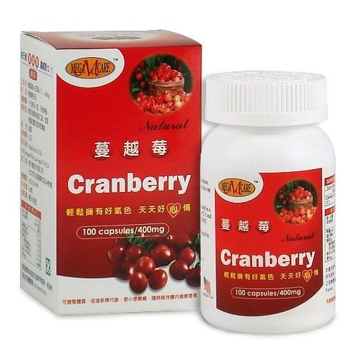 蔓越莓萃取物膠囊 【美天健】(一次購買6瓶,額外加送同商品1瓶)