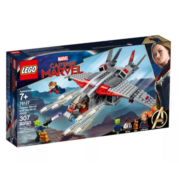 【LEGO樂高】 超級英雄系列- Captain Marvel and The Skrull Attack LT-76127