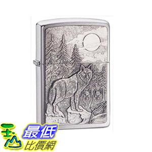 [美國直購] Howling Timberwolves Wolf Zippo Outdoor Indoor Windproof Lighter 打火機