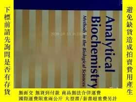 二手書博民逛書店Analytical罕見Biochemistry (Journal) 15 08 2017 分析生物化學學術Y