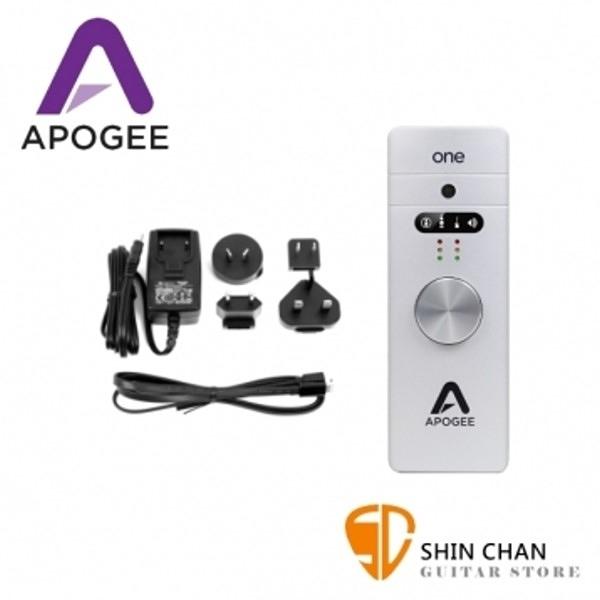 新版 Apogee ONE For iphone&ipad&Mac 頂級行動錄音介面(附蘋果升級套裝) 總代理保固1年