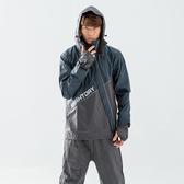 [安信騎士] BRIGHTDAY X武士 斜開 兩件式 風雨衣 墨綠 雨衣