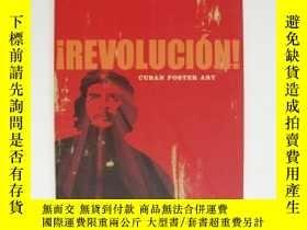 二手書博民逛書店Revolución!罕見- Cuban Poster ArtY