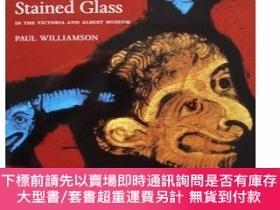 二手書博民逛書店美麗的教堂玻璃畫罕見Medieval and Renaissance Stained Glass in the V