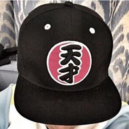 ※現貨 【親子款】奔跑吧兄弟同款 天才刺繡嘻哈帽-2款【E297210】