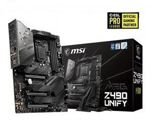 微星 MSI MEG Z490 UNIFY Intel 主機板