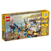 【LEGO 樂高 積木】31084 創意系列 Creator 海盜雲宵飛車