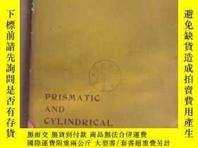 二手書博民逛書店prismatic罕見and cylindrical shell roofs(P2368)Y173412