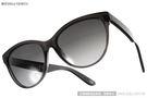 BOTTEGA VENETA太陽眼鏡 極致貓眼/透黑#BV262S 4PYHD
