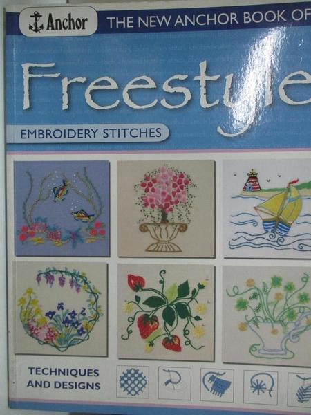 【書寶二手書T4/少年童書_JWB】The New Anchor Book of Freestyle: Embroidery Stitches_Gordon, Joan (CRT)