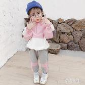 女童套裝秋冬2019新款洋氣小童女運動兒童秋裝女寶寶兩件套潮 LR12041【優品良鋪】