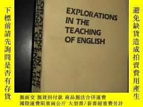 二手書博民逛書店EXPLORATIONS罕見IN THE TEACHING OF