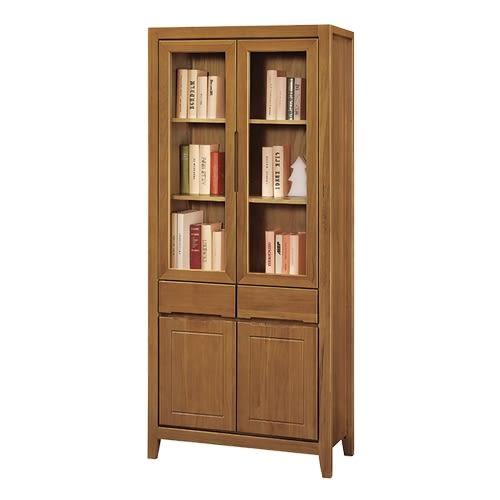 亞拉爾2.7尺中抽書櫃/書櫥/收納櫃(18YS2/645-272)【DD House】