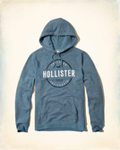 HCO Hollister Co. 男 當季最新現貨 帽T外套 Hco J625
