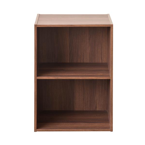 書櫃 堆疊 收納 【收納屋】家居E1二格空櫃&DIY組合傢俱