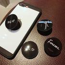抖音直播神器蘋果伸縮氣囊支架oppo手機架子黏貼式vivo耳機繞線器  小明同學