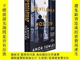 二手書博民逛書店A罕見Gentleman in Moscow 英文原版 埃默·托爾斯:莫斯科紳士 Amor TowlesY21