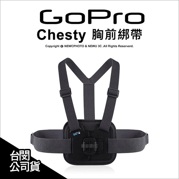 GoPro 原廠配件 Chesty 胸前綁帶 束帶 胸前固定帶 綁帶 AGCHM-001 公司貨【可刷卡】 薪創數位