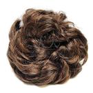 【頭髮增量】假髮甜甜圈(具鬆緊帶可綁)加厚 (夕陽色) [28453]