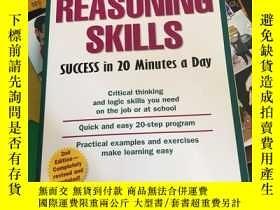 二手書博民逛書店Reasoning罕見Skills Success in 20