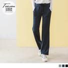 《KS0609》台灣製造~寬版綁帶腰頭吸濕排汗雙口袋直筒運動褲 OrangeBear