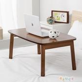 楠竹筆記本電腦桌床上用可折疊炕桌飄窗小桌子懶人書桌學YYJ 新春禮物