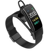 智慧手環 智能手環藍牙耳機二合一多功能通話手表測血壓心率運動計步器男女 莎拉嘿幼