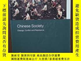 二手書博民逛書店Chinese罕見Society Change, Conflict And Resistance (Asia s