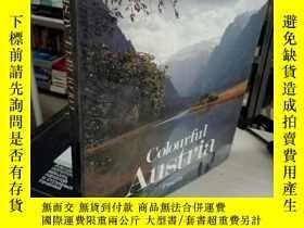 二手書博民逛書店COLOURFUL罕見AUSTRIA 多彩的奧地利 介紹奧地利歷