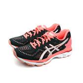 亞瑟士 ASICS 運動鞋 女鞋 黑紅色 T696N-9093 no301