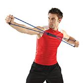 Qmishop 8字拉力繩 彈力繩 拉力器 拉力帶 彈力帶 擴胸器 拉繩 擴胸繩 瑜珈伸展帶【H328】