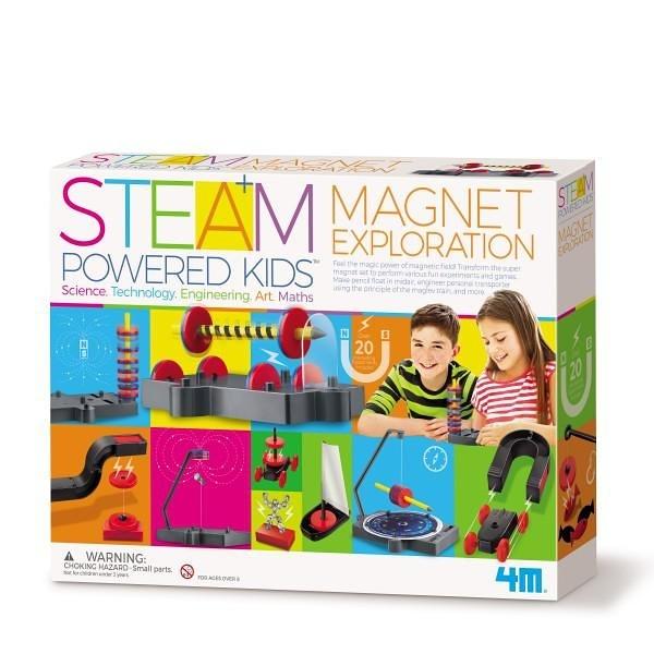 《4M科學探索》磁力科學豪華組 Magnet Exploration ╭★ JOYBUS玩具百貨