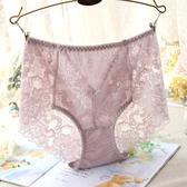 內褲 4條高腰內褲女蕾絲性感網紗薄透視提臀收腹大碼純棉襠無痕三角褲