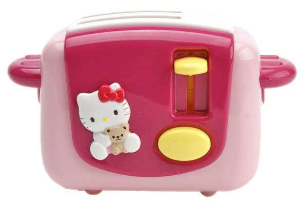 *幼之圓*家家酒玩具-三麗鷗 Hello Kitty烤麵包機~擬真又可愛~配件內容超豐富