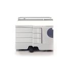【預購】B-Line Boby Storage Mod.XS H31.5cm 巴比 多層式系統 收納推車 - 低尺寸 (三抽屜收納) 白色款