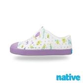 【南紡購物中心】【native】大童鞋 JEFFERSON 小奶油頭鞋-海底世界紫