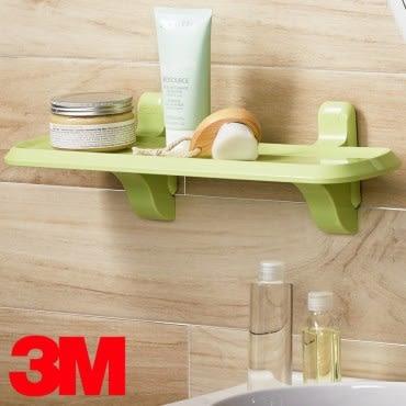 3M 無痕浴室收納系列 層板架 蘋果綠限量款